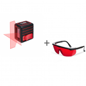 Нивелир лазерный ADA Cube Mini Basic Edition + очки лазерные ADA Laser Glasses  в подарок!