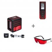 Нивелир лазерный ADA Cube Mini Professional Edition + ADA COSMO MINI + ADA Laser Glasses