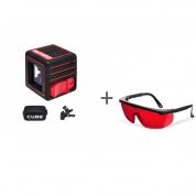 Нивелир лазерный ADA CUBE 3D HOME EDITION + очки лазерныеADA Laser Glasses в подарок!