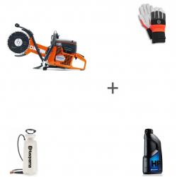 Бензорез Husqvarna K 760 Cut-n-Break + водяной бак + масло и перчатки в подарок!