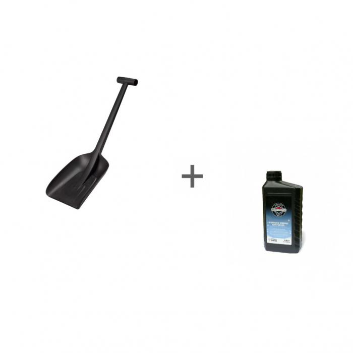 Лопата для автомобиля Fiskars Solid™ и Масло Briggs&Stratton 5W30 SL/CF 1л