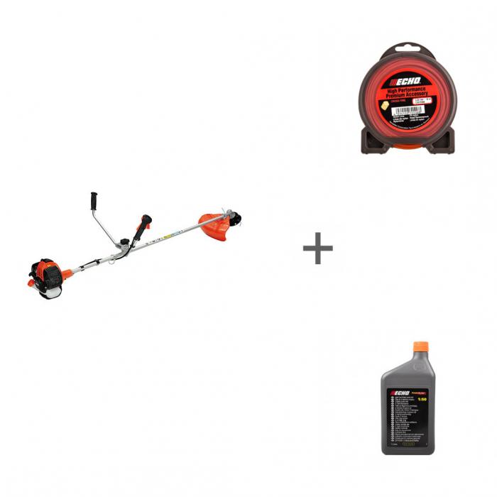 Триммер бензиновый Echo SRM-265TES + корд + масло в подарок!