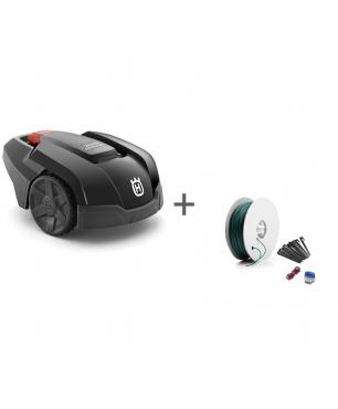 Газонокосилка-робот Husqvarna Automower 105 + Комплект для установки Малый в подарок!