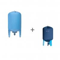 Гидроаккумулятор Джилекс 300В (вертикальный, металлический фланец) + Чехол TermoZont GB 300 для гидробака