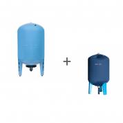 Гидроаккумулятор Джилекс 300ВПк (вертикальный, комбинированный фланец) + Чехол TermoZont GB 300 для гидробака