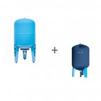 Гидроаккумулятор Джилекс 50В (вертикальный, металлический фланец), Чехол TermoZont GB 50 для гидробака