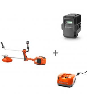 Триммер аккумуляторный Husqvarna 520iRX + аккумулятор BLi200 и зарядное устройство QC 330