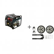 Генератор бензиновый Hyundai HHY 10000FE-3 ATS + транспортировочный комплект в подарок!