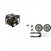 Генератор бензиновый Hyundai HHY 10000FE-T + транспортировочный комплект в подарок!