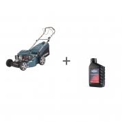 Газонокосилка бензиновая Hyundai L 5500S + Масло Briggs & Stratton SAE-30 0.6л в подарок!