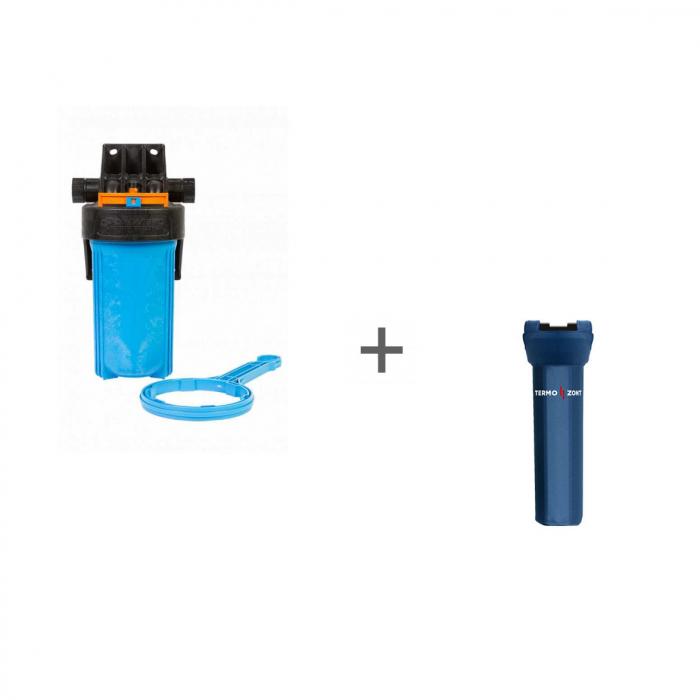 Корпус для картриджного фильтра Джилекс 1 М 10 Т + Чехол TermoZont BB 10 для корпуса картриджного фильтра