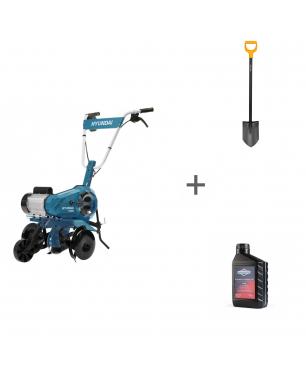 Культиватор электрический Hyundai T2000E + лопата + масло в подарок!