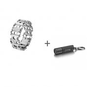 Браслет Leatherman Tread Stainless Steel, Фонарь-брелок Leatherman LED Lenser K2 в подарок!