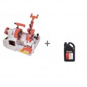 Резьбонарезной станок ручной Rex NS25AIII + Масло минеральное RIDGID 5 л (2 шт) в подарок!