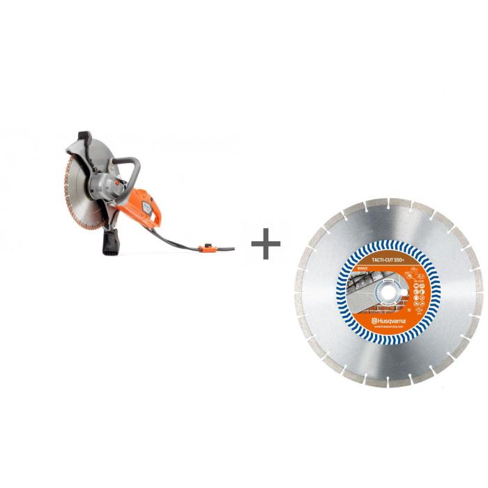 Резчик электрический Husqvarna K 4000 Wet + диск алмазный в подарок!