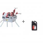 Станок для нарезки резьбы Rex NP50AV CE + with Foot Switch + Масло минеральное RIDGID 5 л (2 шт) в подарок!