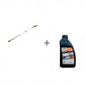 Высоторез-сучкорез аккумуляторный G-MAX 40V GREENWORKS G40PSF + масло  для цепи в подарок!