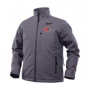 Куртка c электроподогревом премиальная Milwaukee M12 HJ GREY4-0 (L)