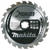 Диск для демонтажных работ Makita 165мм*20мм 24зуб (B-29175)
