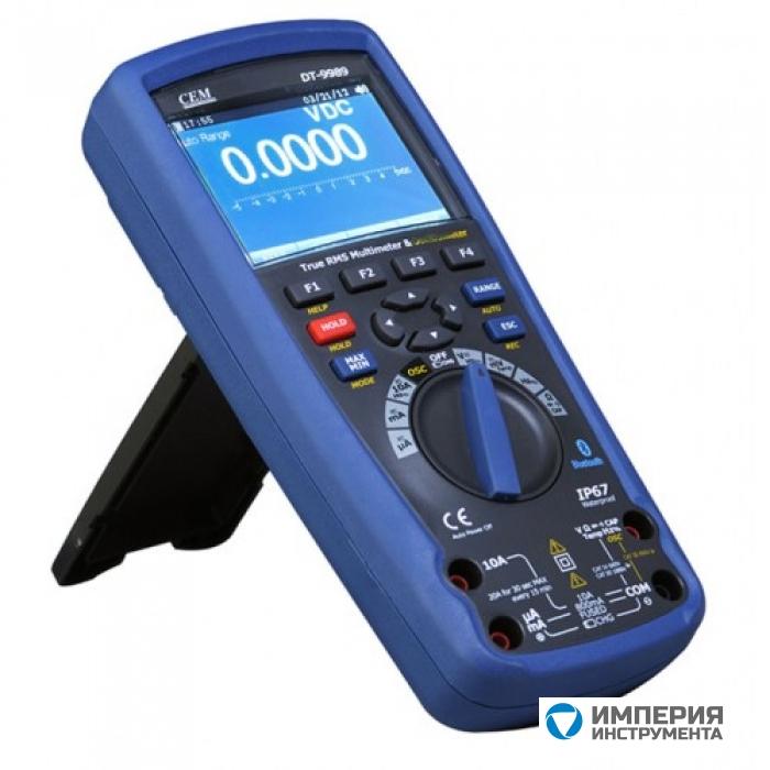 Мультиметр профессиональный CEM(СЕМ) DT-9989