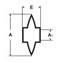 Ролик запасной Virax для труборезов 210145 - 210165
