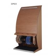 Машинка для чистки обуви Ecoline Роял Дизайн Вуд ОРЕХ