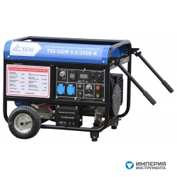 TSS (TCC) GGW 5.5/250E-R Бензиновый сварочный генератор