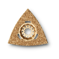 Твердосплавный рашпиль треугольной формы Fein SL, 80 мм