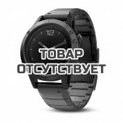 Умные часы серые с металлическим браслетом Garmin Fenix 5 Sapphire