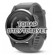 Умные часы серебристые с бирюзовым ремешком Garmin Fenix 5s