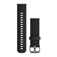 Ремешок сменный (уретан) черного цвета со стальным креплением Garmin для Vivoactive 3