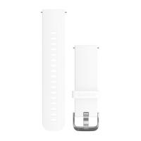 Ремешок сменный (уретан) белого цвета со стальным креплением Garmin для Vivoactive 3