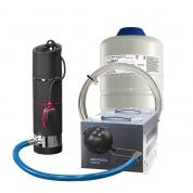 Комплект: Насос погружной Grundfos SBA 3-45 AW + бак + трос + стабилизатор