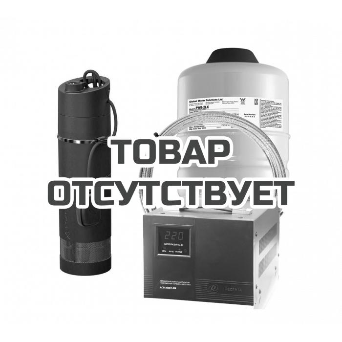 Комплект: Насос погружной Grundfos SBA 3-45 A + бак + трос + стабилизатор