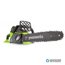 Пила цепная аккумуляторная G-MAX 40V GREENWORKS GD40CS40K3