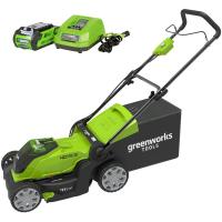 Газонокосилка аккумуляторная G-MAX 40V GREENWORKS G40LM41K3