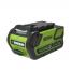 Газонокосилка аккумуляторная G-MAX 40V GREENWORKS GD40LM45K6