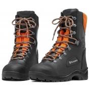 Ботинки кожаные с защитой от пореза бензопилой  Husqvarna Classic 42