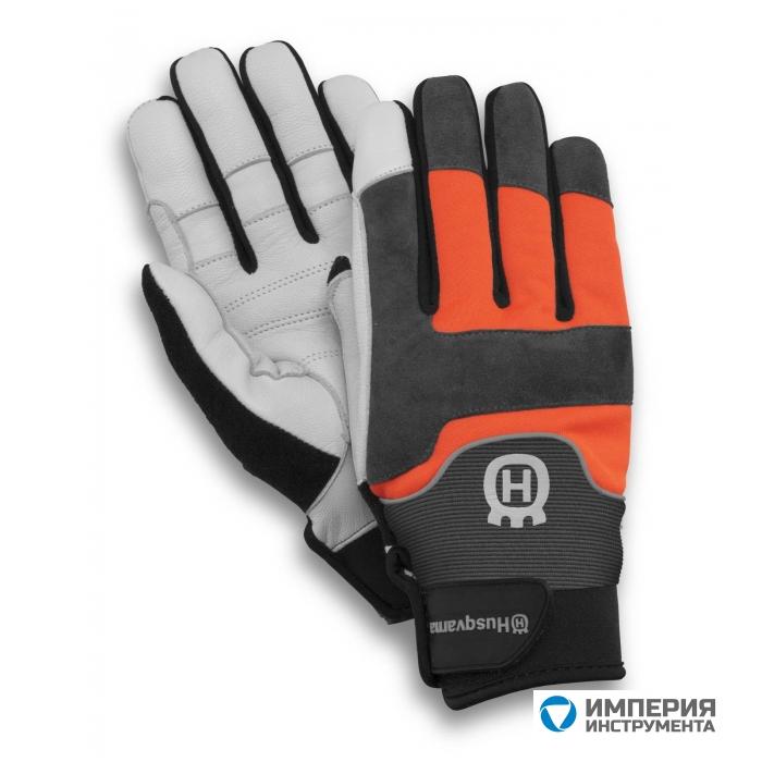 Перчатки c защитой от порезов бензопилой  Husqvarna Technical 08