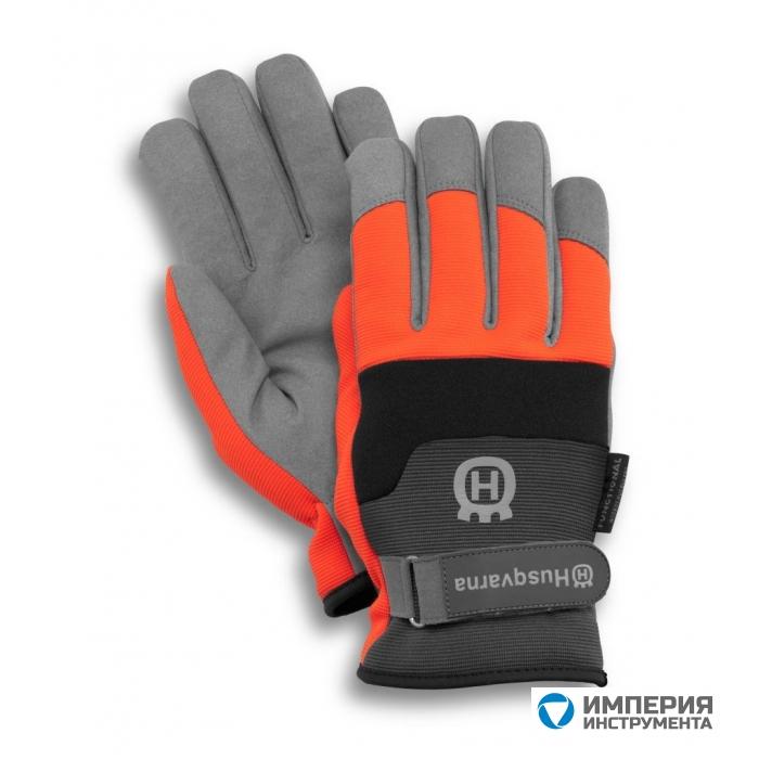 Перчатки с защитой от порезов бензопилой  Husqvarna Functional 07