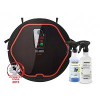 Робот-пылесос iClebo Arte Carbon + Гель для очистки стекол и пятновыводитель Karcher в подарок!