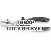 Клещи с накатанной головкой и контргайкой для удаления изоляции электроизолированные KNIPEX KN-1366180TBK