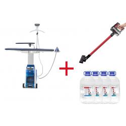 Гладильная система MIE Maxima + Вертикальный беспроводной пылесос Elemento + Вода 20 л