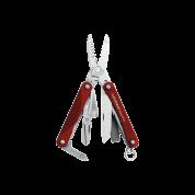 Мультитул Leatherman Squirt ES4, 9 функций, красный