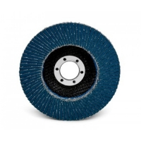Лепестковый шлифовальный круг 3M™ 566A, конический, 180 мм х 22,23 мм, 80