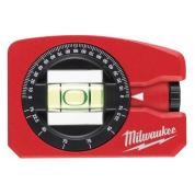 Уровень карманный магнитный Milwaukee