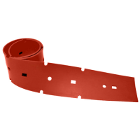 Лезвие резиновое переднее Portotecnica для LAVAMATIC 100 ВТ 70