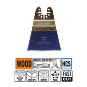 Высокоточное пильное полотно 68 мм для древесины СМТ OMM06-X1