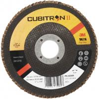 Круг лепестковый торцевой конический 3M™ Cubitron™ II 967A, P40, 125 мм