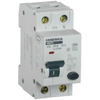 Автоматический выключатель дифференциального тока IEK АВДТ32 C10 GENERICA